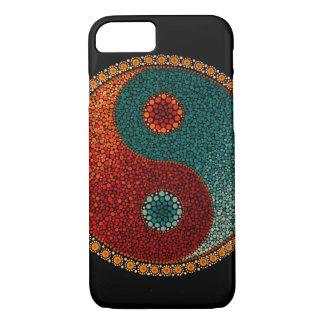 Yin Yang Hand Painted Mandala iPhone 7 Case