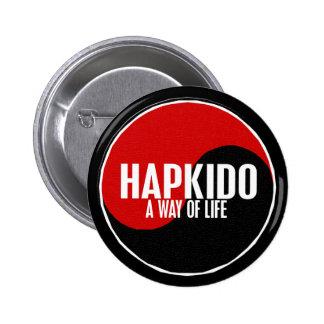Yin Yang HAPKIDO 1 6 Cm Round Badge