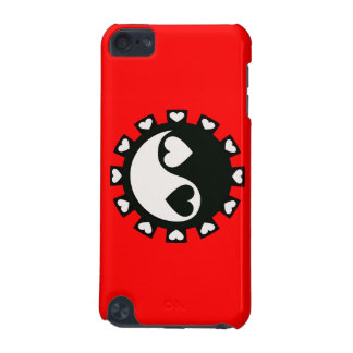 YIN YANG HEARTS BLACK & WHITE iPod TOUCH 5G CASES