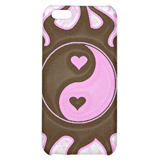 Yin Yang Hearts iPhone 5C Cover