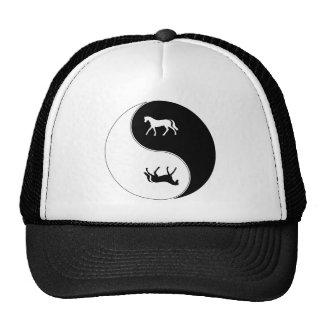 Yin Yang Horse Cap