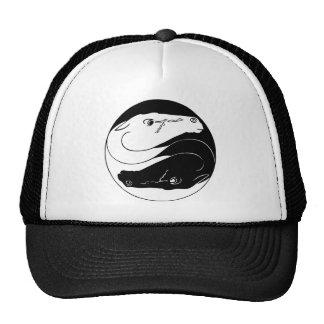 Yin Yang Horses Cap Trucker Hats