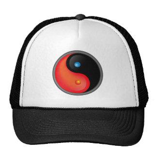 Yin Yang Hot and Cold Hats