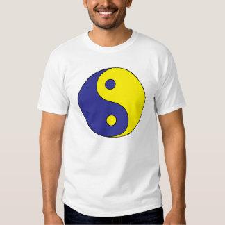 Yin Yang (in yellow & blue) T-Shirt