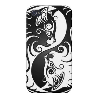 Yin Yang Kittens Covers For iPhone 4