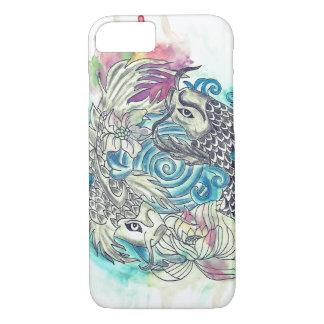 Yin Yang Koi Fish iPhone 8/7 Case