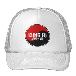 Yin Yang Kung Fu 1 Trucker Hats