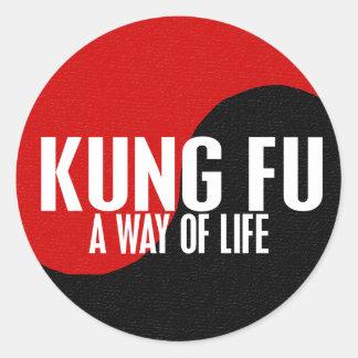 Yin Yang Kung Fu 1 Sticker