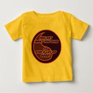 Yin Yang Line Baby T-Shirt