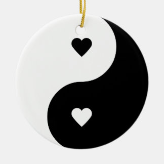 Yin Yang Love ornament