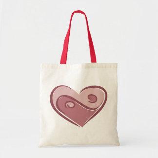 Yin Yang Love Tote Bag