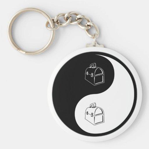 Yin Yang Lunchboxes Key Chain