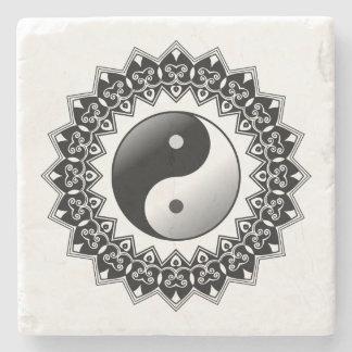 Yin Yang Mandala Coaster