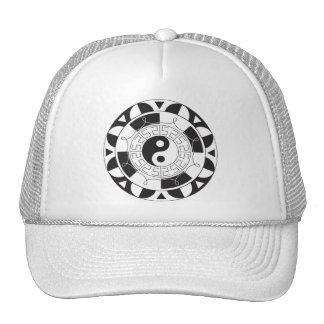 Yin Yang Mandela Hats