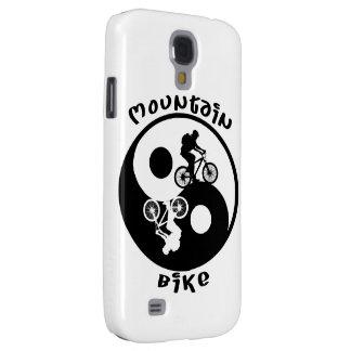 Yin Yang Mountain Bike Galaxy S4 Case in Tan