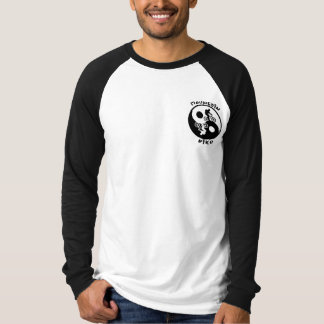 Yin Yang Mountain biker T Shirt