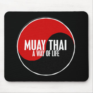 Yin Yang Muay Thai 1 Mouse Pad