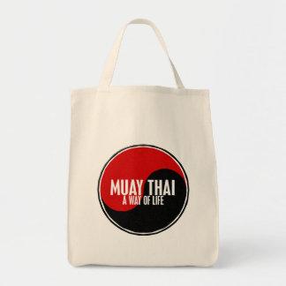 Yin Yang Muay Thai 1 Tote Bag