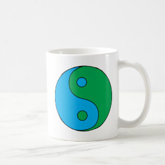 Yin Yang Multicolored Mug