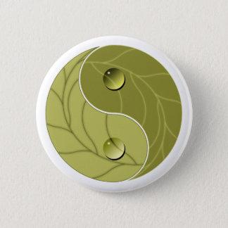 Yin Yang Nature 6 Cm Round Badge