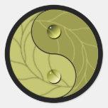 Yin Yang Nature Sticker