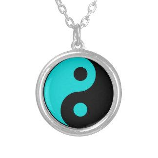Yin Yang Necklace Turquoise