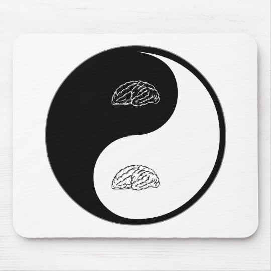 Yin Yang Neurology Mouse Mat