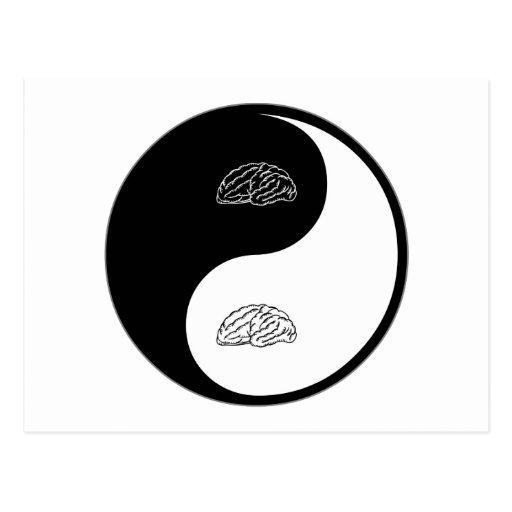 Yin Yang Neuroscience Post Card