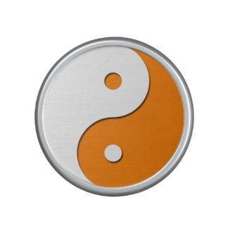 Yin Yang - orange 1 Speaker