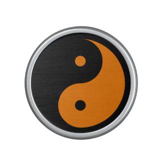 Yin Yang - orange 2 Speaker