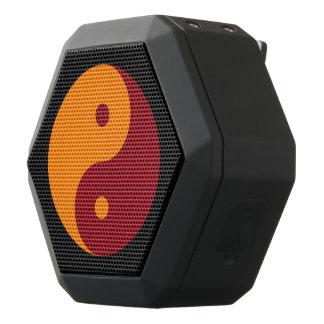 Yin Yang - orange red Black Boombot Rex Bluetooth Speaker