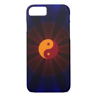 Yin Yang - orange red - Patt iPhone 7 Case