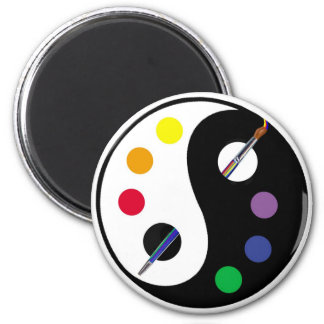 Yin Yang Palette Magnet