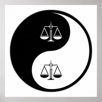 Yin Yang Paralegal Work Poster