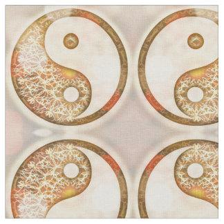 Yin Yang Pattern Fabric