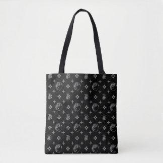 Yin Yang Pattern Tote Bag