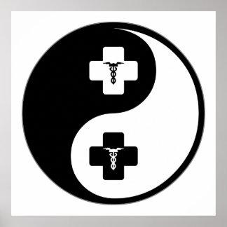 Yin Yang Phlebotomy Poster