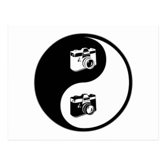 Yin Yang Photography Postcard
