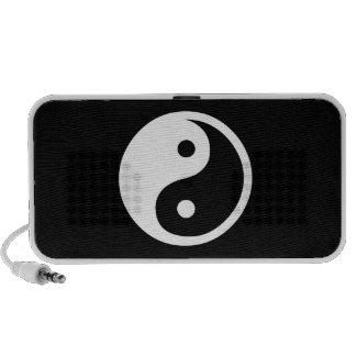 Yin Yang Pictogram Doodle Speaker