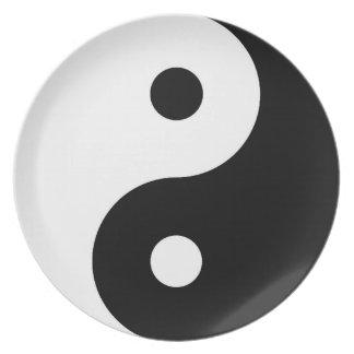 Yin Yang Plate