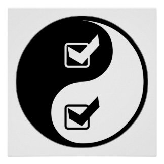 Yin Yang Quality Assurance Engineering Posters