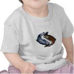 Yin Yang Salmon Fish T-shirt