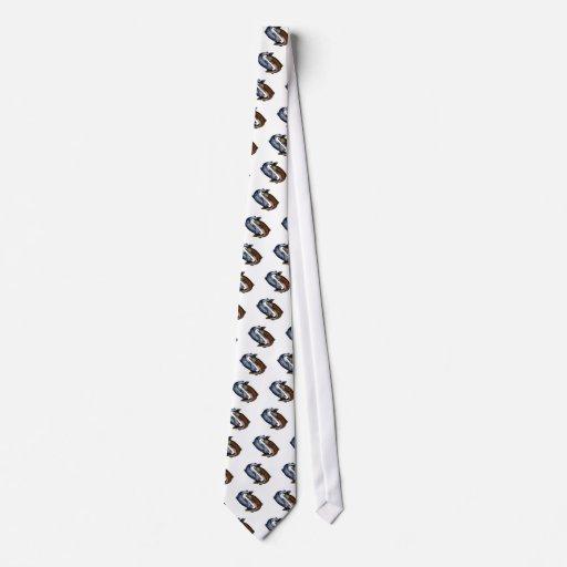 Yin Yang Salmon Fish Tie