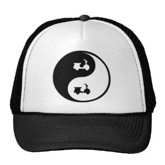 Yin Yang Scooters Hat
