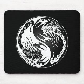 Yin Yang Scorpions Mouse Pad