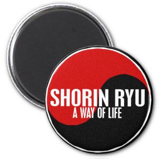 Yin Yang Shorin Ryu 1 6 Cm Round Magnet