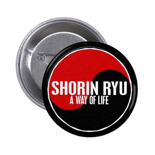 Yin Yang Shorin Ryu 1 Pinback Buttons