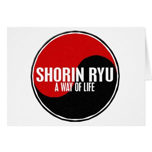 Yin Yang Shorin Ryu 1 Greeting Cards