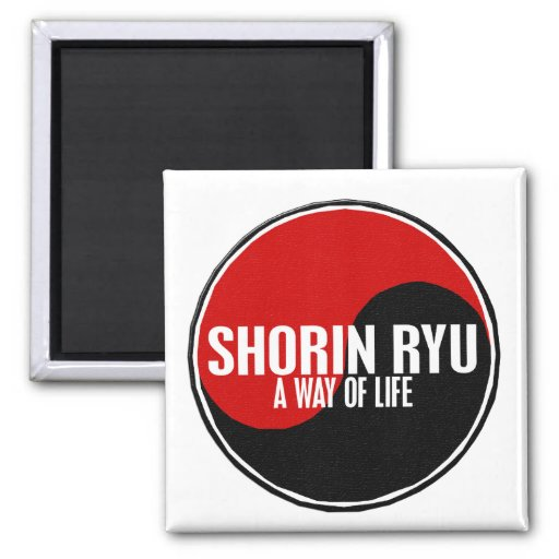 Yin Yang Shorin Ryu 1 Refrigerator Magnets