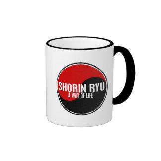 Yin Yang Shorin Ryu 1 Ringer Coffee Mug